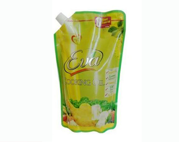 Oil pouch packaging