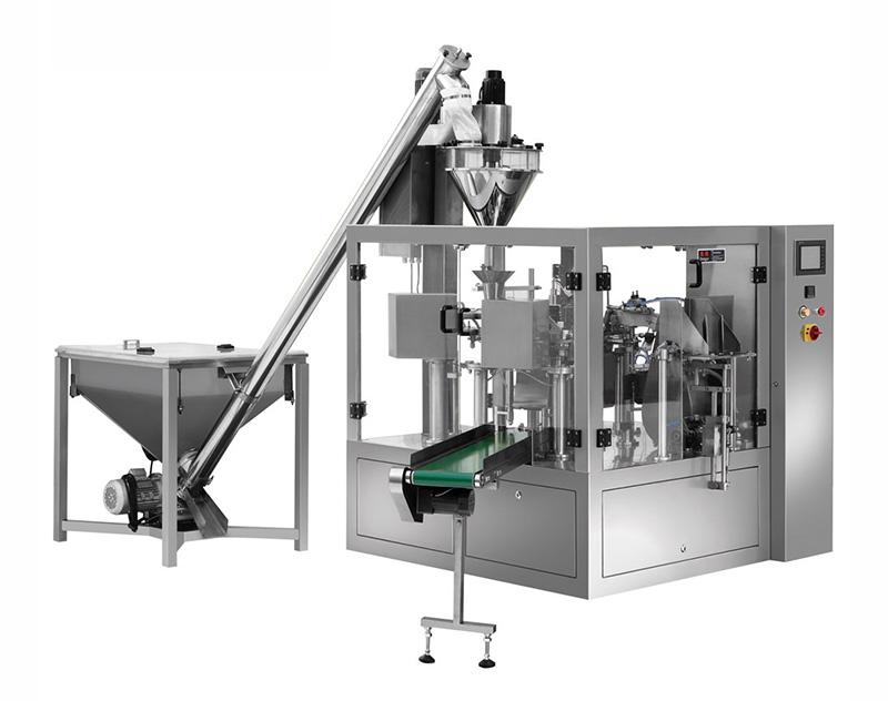10g~2500g Powder Premade Pouch Packing Machine