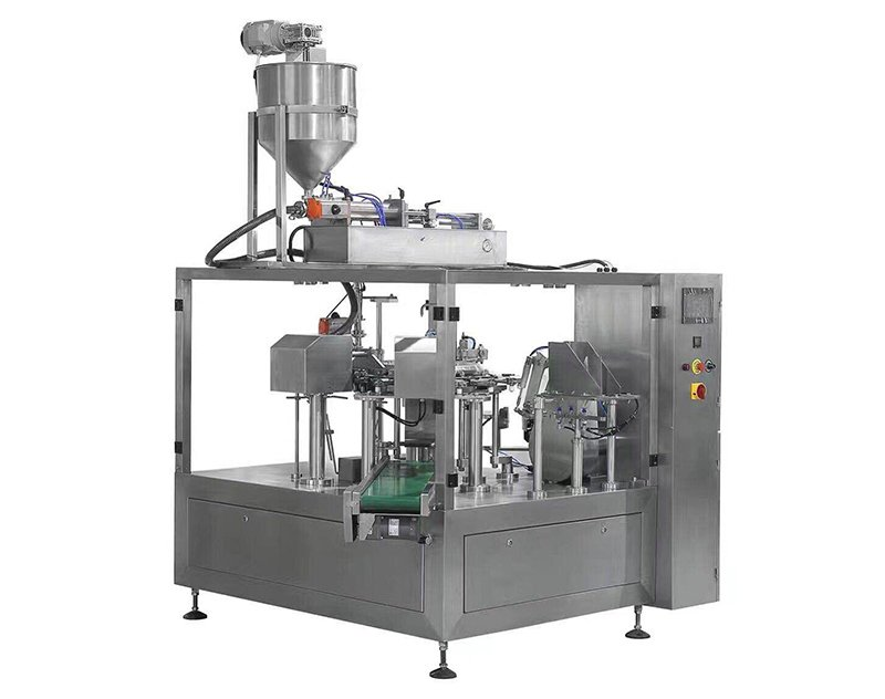 Liquid Premade Pouch Doypack Packing Machine