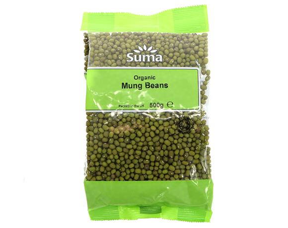 Mung beans packaging