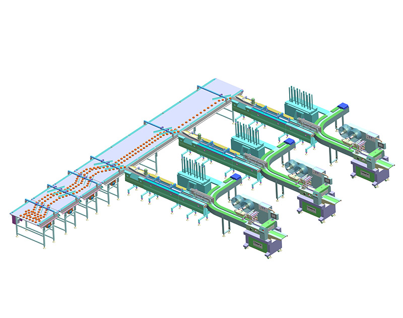 Food Tray Automatic Feeding & Packing Line