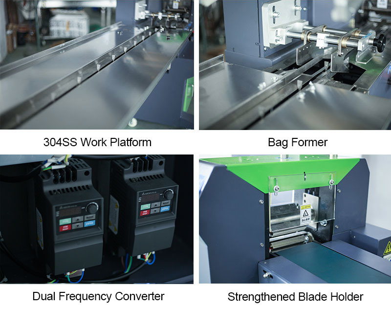 Flow Wrap Packing Machine ( Upgraded Version )