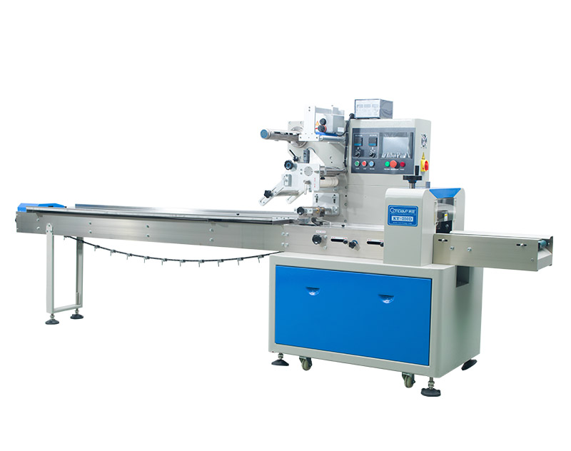 ​Horizontal Flow Wrapper Packing Machine