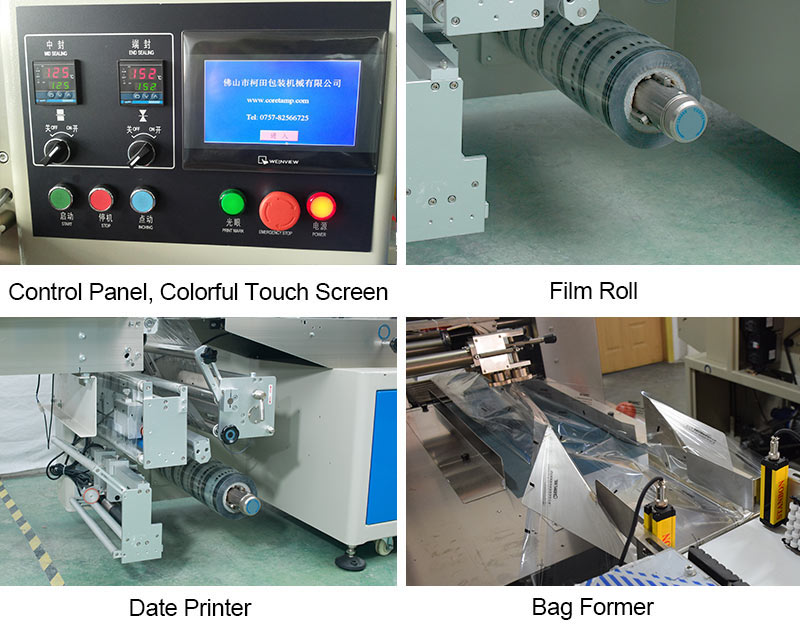 Down-Film Automatic Flow Wrapping Machine