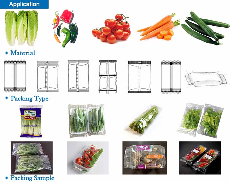 Fresh Vegetable Packing Machine