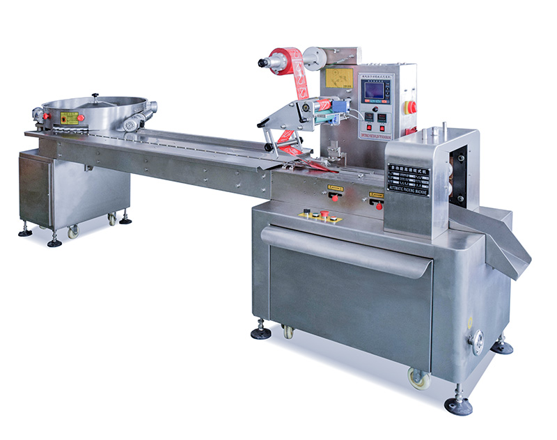 Turntable Type Feeding Packing Machine for Candy Individual Package