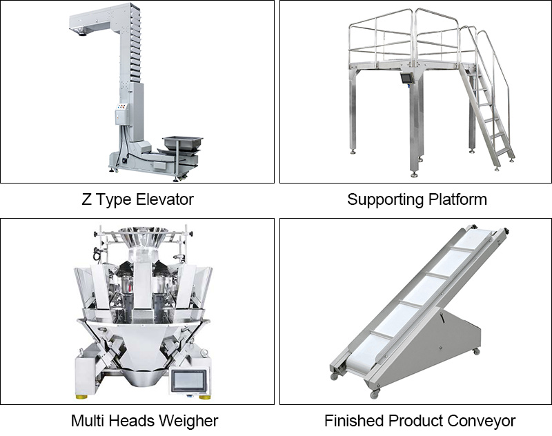 Multihead Weigher Granule Packaging Machines ZV-420A/ZV-520A