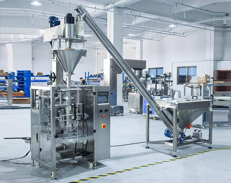 50g~5kg Automatic Powder Bag Packaging Machine ZV-420D/520D/720D